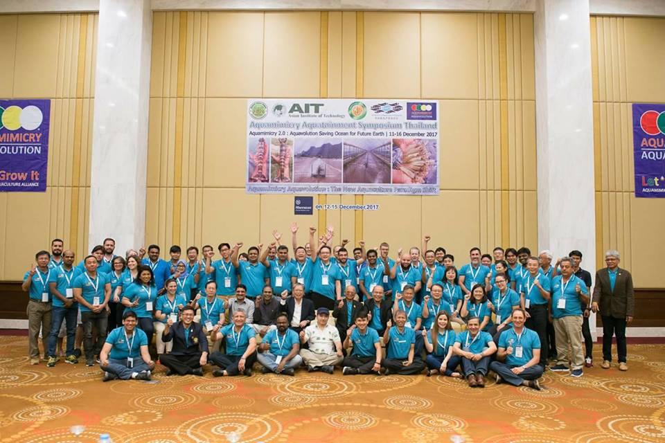 Simposium de AQUAMIMICRY Tailandia Diciembre 2017